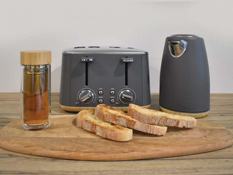 Toast, Kettle, Tea Infuser